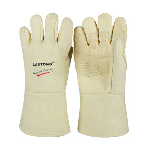 CASTONG/卡司顿 ABY系列500℃耐高温手套 ABY-5T-34 均码(M) 长34cm 1副