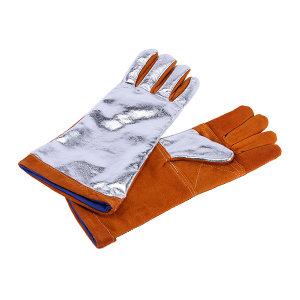DELTA/代尔塔 隔热防喷溅镀铝手套 205401 均码 1副