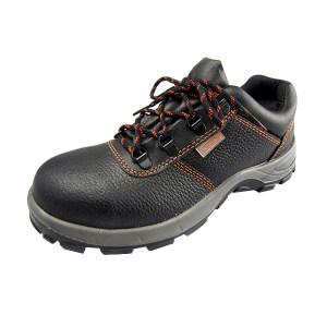 DELTA/代尔塔 MALIA经典系列低帮牛皮安全鞋 301501 41码 黑色 防砸防静电 1双