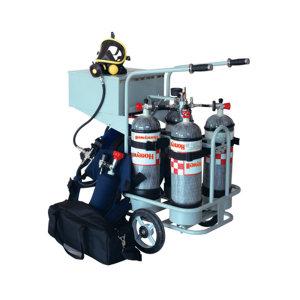 HONEYWELL/霍尼韦尔 移动供气源小推车经济型 BC1766014 不含气瓶 无逃生装置 1套