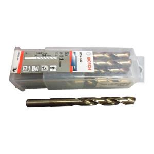 BOSCH/博世 高速钢麻花钻头-含钴(不锈钢专用) 2608585885 5.0mmHSS-Co 1盒