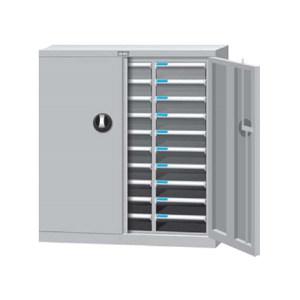TANKO/天钢 文件箱(落地型) A4H-330D W852×D403×H925mm 30个透明抽屉 1个