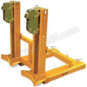 HULIFT/虎力 DG系列叼扣油桶夹 DG720A 鹰嘴叼扣式 载荷720kg 叉口尺寸148×54mm 适用油桶规格55gal 1个