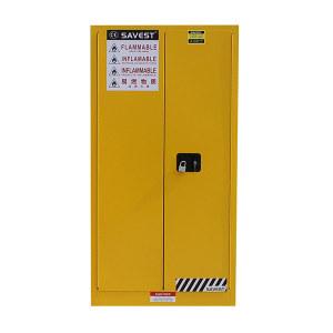 SAVEST/赛维斯特 易燃液体防火安全柜 WY810600 60gal 双门 手动 黄色 1个
