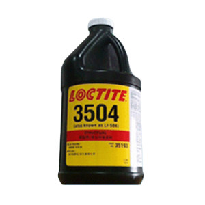 LOCTITE/乐泰 UV固化结构粘接胶 3504 透明 1L 1桶