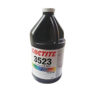 LOCTITE/乐泰 UV固化结构粘接胶 3523 透明 1L 1桶