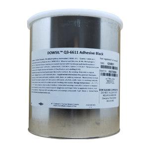 DOWSIL/陶熙 有机硅胶-高强度加热固化型 Q3-6611 灰色 加热固化 453g 1瓶