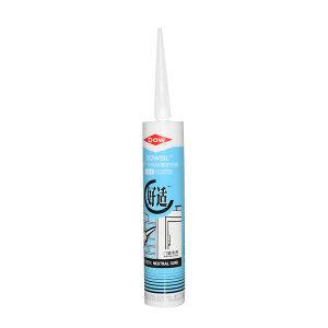 DOWSIL/陶熙 建筑胶-好适玻璃胶 好适-W 中性硅酮密封胶 白色 1支