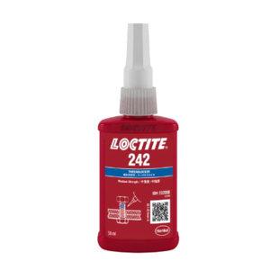LOCTITE/乐泰 螺纹锁固胶 242 蓝色 中强度 50mL 1瓶