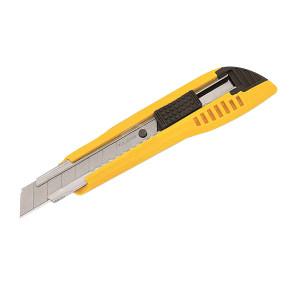 TAJIMA/田岛 美工刀520 1101-0013 18mmL型刃 附2片银刃备用刀片(LB50H LB50DH) 1把