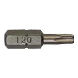 STANLEY/史丹利 6.3MM系列25mm长花形旋具头 63-046T-23 T20 1组