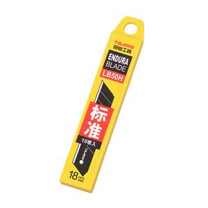 TAJIMA/田岛 L型标准型替刃 1102-0136 18MM 塑料盒(1片黑刃+9片银刃) 1组