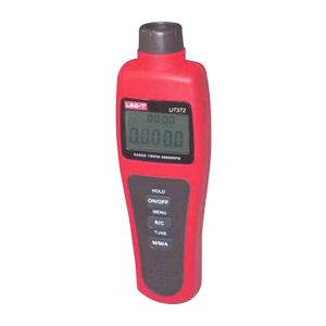 UNI-T/优利德 非接触式转速计 UT372 LCD:53mm*41mm 机身尺寸:184mm*56mm*34mm 红色+灰色 1台