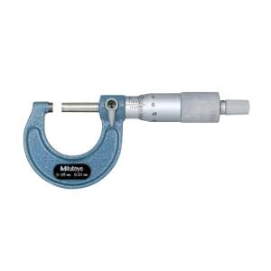 MITUTOYO/三丰 外径千分尺 103-137 0-25×0.01 带棘轮锁定 不代为第三方检测 1把