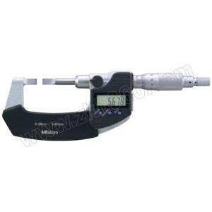 MITUTOYO/三丰 薄片数显千分尺 422-270-30 0-25×0.001mm 0.75×6.5mm合金测头 SPC数据输出 不代为第三方检测 1把