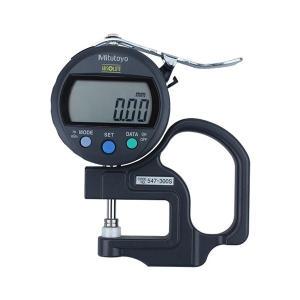 MITUTOYO/三丰 公英制数显厚度表 547-300S 标准型 公英制 0-10×0.01mm SPC数据输出 不代为第三方检测 1只