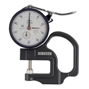 MITUTOYO/三丰 标准型厚度表 7301A 标准型 0-10×0.01mm 不代为第三方检测 1只