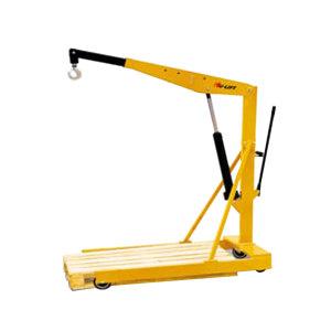 HULIFT/虎力 手动欧式单臂吊机 SA1000 额定载荷1000/900/800/700kg 吊臂长度1060~1360mm 高度范围470~2225mm 1个
