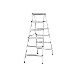 JINMAO/金锚 铝合金梯凳 LFD132AL 平台高度1320mm 载荷150kg 1架