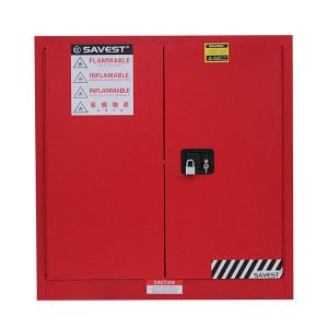 SAVEST/赛维斯特 可燃液体防火安全柜 WR810300 30gal 双门 手动 红色 1台