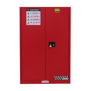 SAVEST/赛维斯特 可燃液体防火安全柜 WR810450 45gal 双门 手动 红色 1台