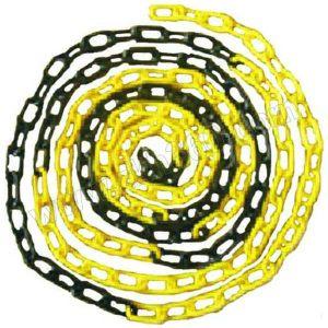 XIANGCHEN/襄辰 PE塑料链条 LT002 黄黑 Φ6mm 环42*20mm 1个