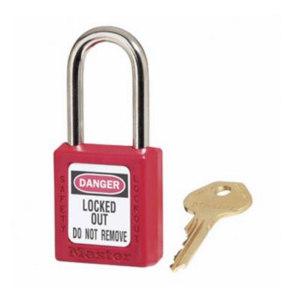 MASTERLOCK/玛斯特锁 Zenex 410系列安全挂锁 410MCNRED 红色 不同花 1把