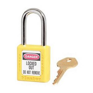 MASTERLOCK/玛斯特锁 Zenex 410系列安全挂锁 410MCNYLW 黄色 不同花 1把