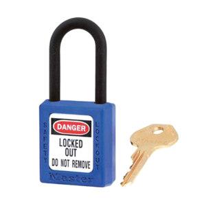 MASTERLOCK/玛斯特锁 Zenex 406系列绝缘挂锁 406MCNBLU 蓝色 不同花 1把