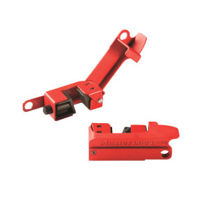 MASTERLOCK/玛斯特锁 Grip Tight断路器开关锁具 493BMCN 适合标准单、双向开关 1把