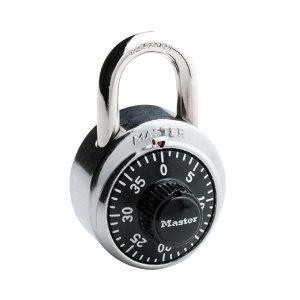 MASTERLOCK/玛斯特锁 固定密码锁 1500MCND 黑色 锁钩净高19mm 1个
