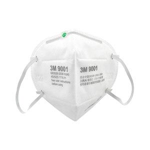 3M 9000系列折叠式防颗粒物口罩 9001A环保 KN90 耳戴式 1包
