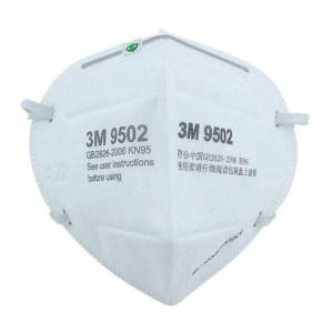 3M 9500系列折叠式防颗粒物口罩 9502 KN95 头戴式 1个