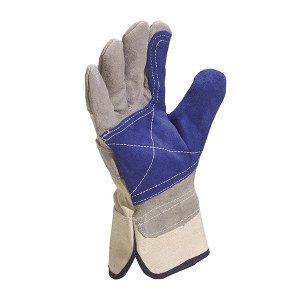 DELTA/代尔塔 优质牛皮缝线手套 204202 均码 1副