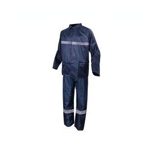 DELTA/代尔塔 EN400RE分体式涤纶雨衣套装 407004 2XL 藏青色(MA) 1套