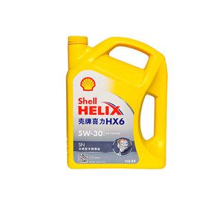 SHELL/壳牌 半合成汽油机油 HELIX-HX6-5W30 4L×4瓶 1箱