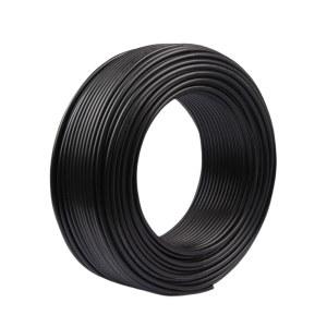 QIFAN/起帆 中型橡套软电缆 YZ-300/500V-3×6+1×4 内芯(含黄绿双色)/护套黑色 1米