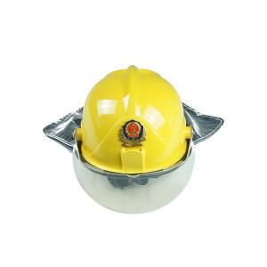 MEIKANG/美康 消防头盔 MKF-26(FTK-B/A) 黄色 ABS帽壳 有3C认证 含下颌带  1个