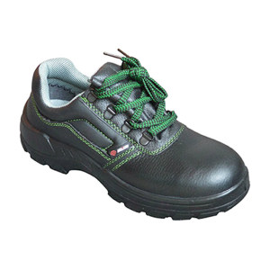SAISI/赛狮 通用系列低帮牛皮安全鞋 K901 38码 黑色 防砸防静电 1双