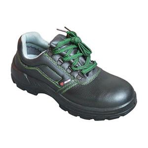 SAISI/赛狮 通用系列低帮牛皮安全鞋 K901 42码 黑色 防砸防静电 1双