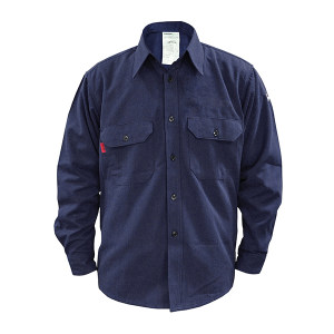 LAKELAND/雷克兰 9cal系列防电弧衬衣 AR8-S-TSP L 蓝色 1件