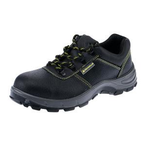 DELTA/代尔塔 GOULT2经典系列低帮牛皮安全鞋 301102 42码 黑色 防砸防静电防刺穿 1双