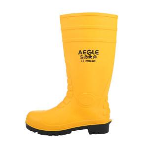 AEGLE/羿科 KV20Y PVC防护靴 60700104 38码 防砸防静电防刺穿耐酸碱耐油 1双