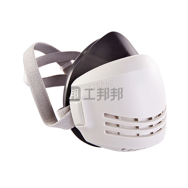 STRONG/思创 天然橡胶防尘半面具套装 ST-AX 含2片ST-AGX.1滤棉 KN90 1套