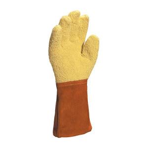 DELTA/代尔塔 芳纶毛圈布高温防切割手套 203007 10码 5级防割 可耐高温350度/15秒 1副