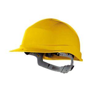 DELTA/代尔塔 ZIRCON1系列PP安全帽 102011 黄色(JA) 8点式LDPE内衬 不含下颏带 1顶