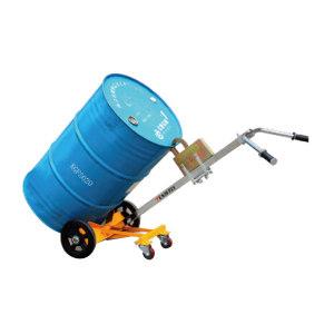 TENDERLY/泰得力 液压油桶搬运车 DE450B 载荷450kg 适用于钢制油桶或带厚边的塑料闭口桶 1辆