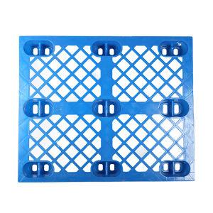 ZH/智浩 单面网格九角塑料托盘 1210A网格九角 尺寸1200×1000×130mm 静载2t 动载0.7t 1个