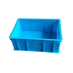 ANWENYING/安稳盈 加厚系列周转箱 450-165箱 490×355×175mm(450×320×165mm) 蓝色 1个