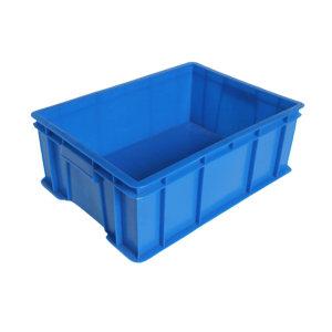 ANWENYING/安稳盈 加厚系列周转箱 450-235箱 490×355×245mm(450×320×235mm) 蓝色 1个
